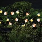 Smart Solar Bird Light String – 16 White LED's