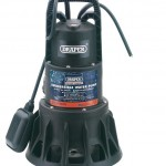 Draper 320L/min Submersible Pump 1100w with float switch