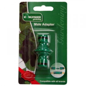 Kingfisher half inch male adaptor garden centres near me for Gardening tools near me