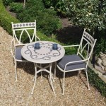 Leisuregrow Marrakech 70cm Round Bistro Set
