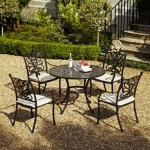 Leisuregrow Devon 105cm Round 4 Seater Dining Set