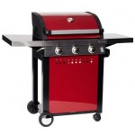 Grillstream Classic 3 Burner Roaster (Red)
