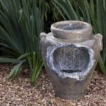Blagdon Liberty Mains Free Waterfall Urn Water Feature w/ Remote