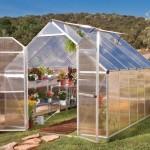 Palram Essence 8 x 12 Silver Greenhouse