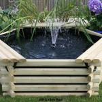 Norlog 100 Gallon Garden Pool with Fountain