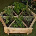 Norlog Medium Herb Wheel / Planter