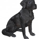 Vivid Arts Real Life Black Labrador – Size A
