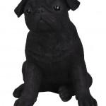 Vivid Arts Real Life Black Pug – Size D