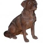 Vivid Arts Real Life Chocolate Labrador – Size A