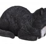 Vivid Arts Real Life Dreaming Cat Black & White – Size B