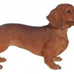 Vivid Arts Real Life Brown Dachshund – Size A