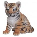 Vivid Arts Real Life Sitting Tiger Cub – Size D