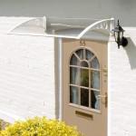 Greenhurst Door Canopy – White