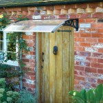 Greenhurst Door Canopy – Black