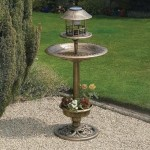 Greenhurst Bird Bath and Free Feeder Bronze