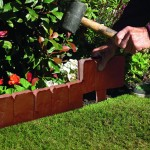 Greenhurst Pack of 10 Cobbled Edging Terracotta