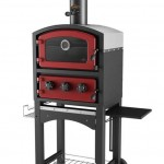 Fornetto Wood Fired Oven Red