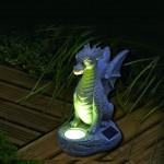Smart Solar Solar Dragon Statuette