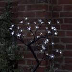 Smart Garden White Blossom Tree 40 LED 45cm High (Battery Powered)