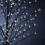 Smart Garden White Blossom Tree 120 LED 150cm High (Battery Powered)