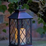 Smart Garden Lattice Lantern Candle LED (Battery Powered)