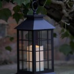 Smart Garden Window Lantern Candle LED (Battery Powered)