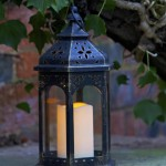 Smart Garden Moroccan Lantern Candle LED (Battery Powered)