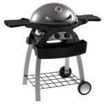 Grillstream Ziggy 2 Burner Gunmetal BBQ & Fixed Cart
