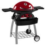 Grillstream Ziggy 2 Burner Red BBQ & Fixed Cart