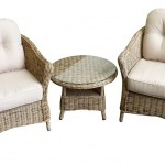 Leisuregrow Saigon Colonial Weave Cafe Duo Set