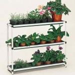 Window Sill Plant Shelving (plain aluminium)