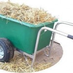 Easybarrow 255 Litre Hand Wheelbarrow Wide Wheels