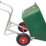 EasyTip 255 Litre Hand Wheelbarrow Wide Wheels