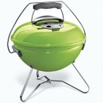 Weber Smokey Joe Premium Tuck & Carry (spring green) Barbecue