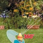 Hozelock Aquastorm 360 degree 2n1 Sled Sprinkler
