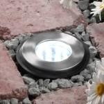 Hibria White LED Outdoor Deck Light 2w