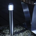 Orion White LED Outdoor Post Light 1w