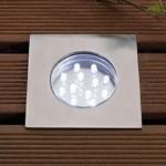 Hybra White LED Outdoor Deck Light 2w