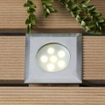 Leda Warm White LED Outdoor Deck Light 1w