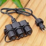 Low Voltage Outdoor Lighting Cable Divider