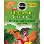 Miracle-Gro Organic Choice Fruit And Veg Food – 1.5Kg