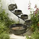 Smart Solar Granite Ceramic Cascade