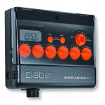 Claber Multipla AC W/LCD Water Timer