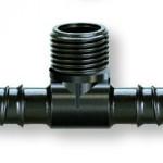 Claber 1/2 inch 3-Way Threaded Adaptor