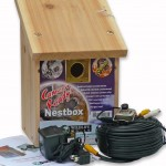 Infra Red Camera-Ready Nestbox with Colour Camera Kit
