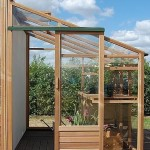 Growhouse Lean To Greenhouse (6ft Wide)