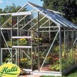 Halls Popular Greenhouse (6ft Wide)