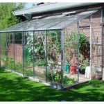 Eden Lean To Greenhouse (6ft Wide)