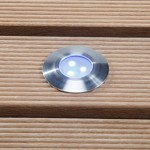 Techmar Alpha LED Blue Deck Light 0.5W