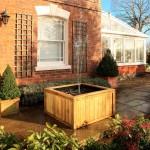 Hozelock Wooden Terrace Raised Pond Kit